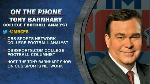 College Football: Tony Barnhart on coaches statements