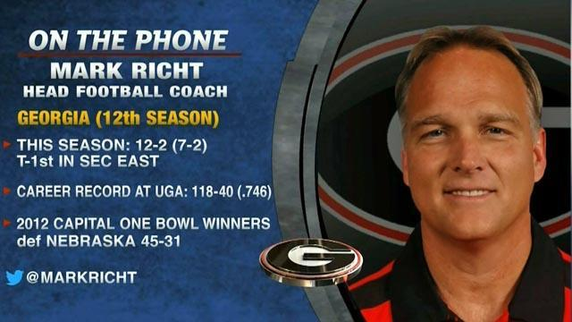 College Football: Mark Richt on upcoming season