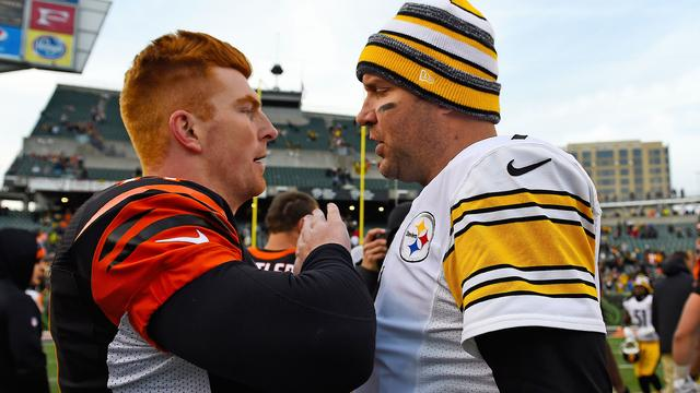 Which of these quarterbacks will win the AFC North? (USATSI)