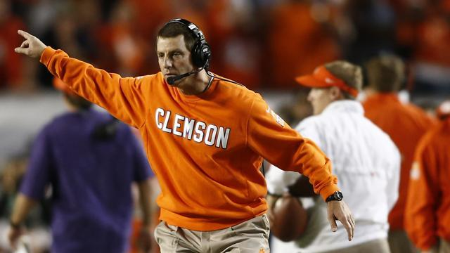 Dabo Swinney on scholarships: 'I'd just as soon they all be four-year scholarships.' (USATSI)