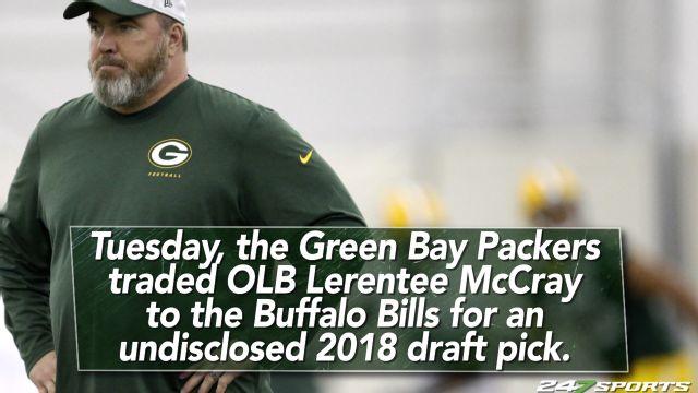 Packers trade linebacker to the Bills