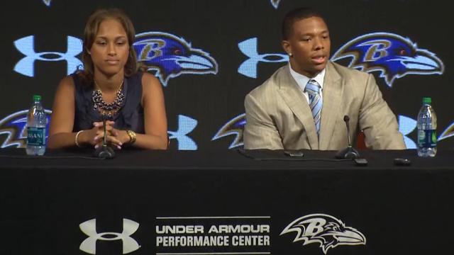 Top Videos: Ray Rice and his wife react to suspension ...