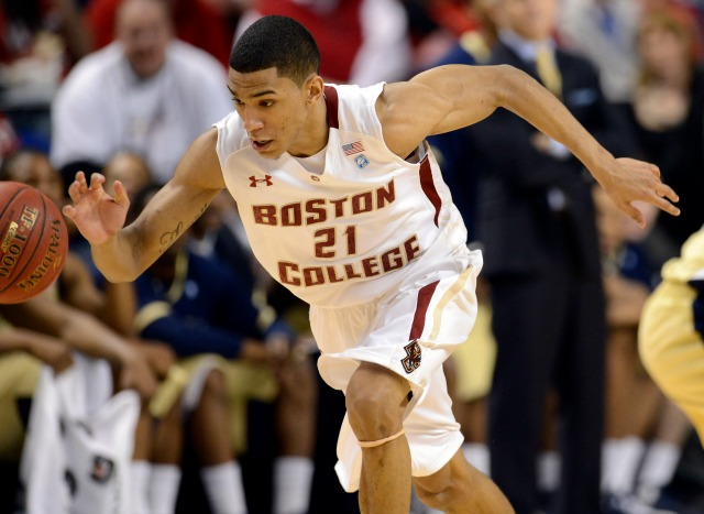 Boston College guard Olivier Hanlan opened eyes with his record-setting performance in last year's ACC tournament. (USATSI)