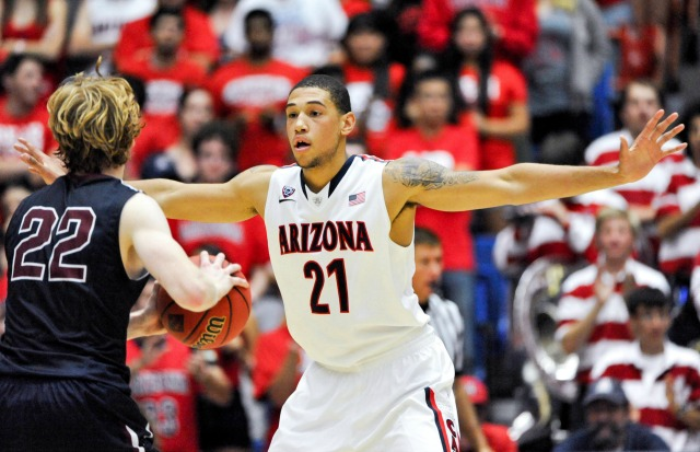 Brandon Ashley has done plenty of dirty work for top-ranked Arizona.