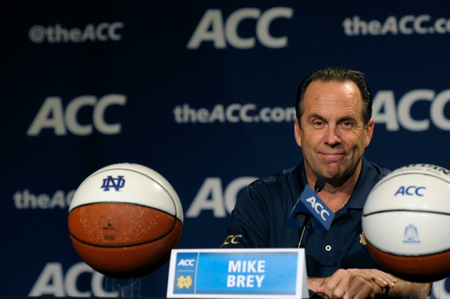 Mike Brey leads Notre Dame into a brave, new ACC world. (USATSI)