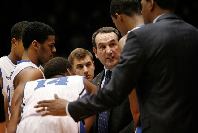 The 2013-14 Blue Devils are talented, but are trying to become Coach K's idea of a team. (USATSI)