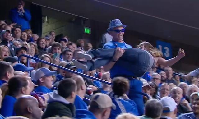 Uk Basketball: WATCH: Dancing Kentucky Fan Drops Girl During Stunt Gone