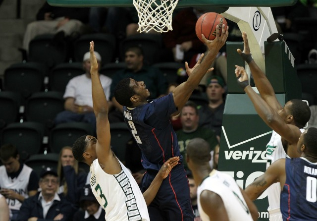 If UConn forward DeAndrew Daniels can continue to finish around the rim, the Huskies should take off under Kevin Ollie. (USATSI)