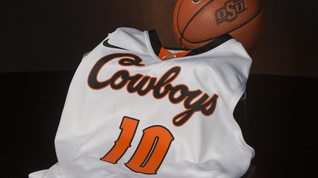 3f78d0d8f Oklahoma State s throwbacks resemble the late 1990 s early 2000 s look on  the court. (USATSI)
