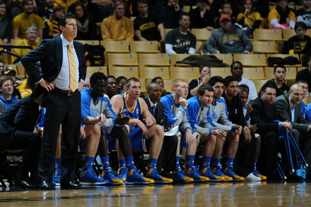 Steve Alford and UCLA take on Duke at Madison Square Garden Thursday night. (USATSI)