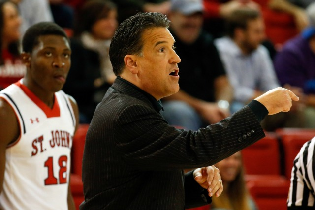 Steve Lavin and St. John's have another tough test in store. (USATSI)