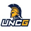UNC-Green. Spartans logo