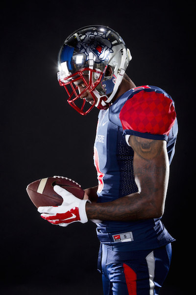LOOK: Fresno State's 'Night in Navy' uniforms