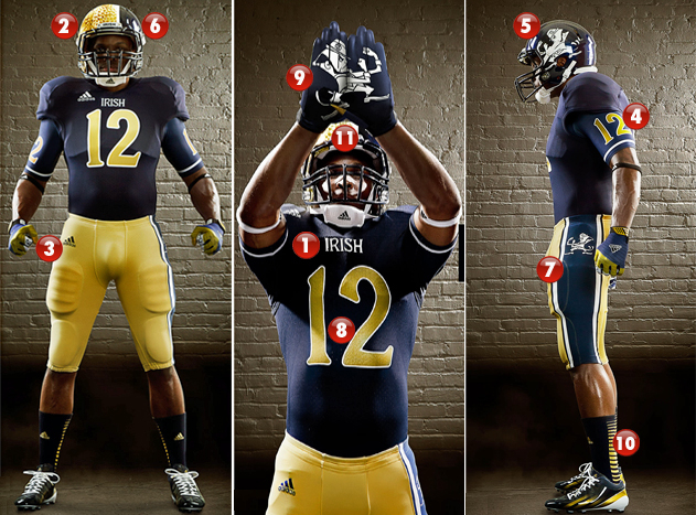 Notre Dame football claims 11 national championships over the course of its  illustrious history. The sins of the new Adidas Jerseys the Irish unveiled  on ... 70439dde0