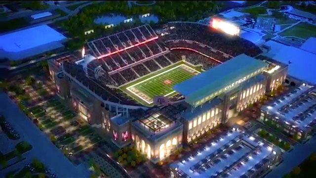 The Kyle Field of the future. (TexAgs.com)