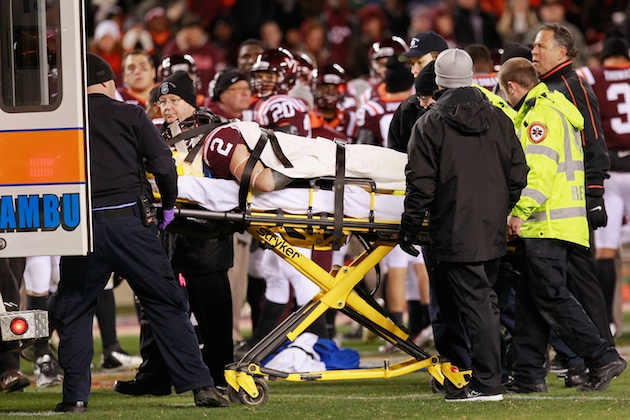 cause of football injuries Chris borland leaves nfl: the science of football and brain injury  in most  cases, cte is thought to be caused by repeated blows to the.