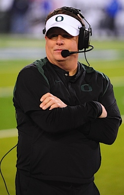 Chip Kelly on Chip Kelly May Be Watching Film In A Hot Tub  And More On Oregon S