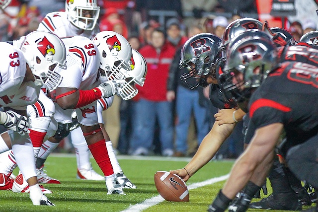 Louisville and Rutgers will likely play as Big East opponents for the last time on Oct. 10. (USATSI)