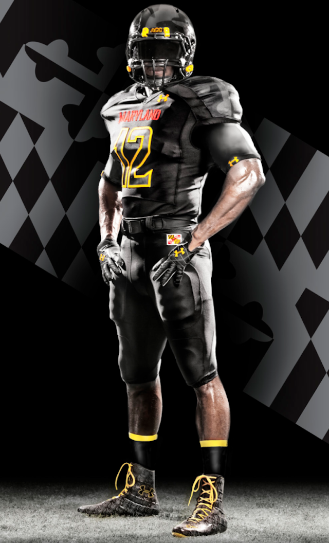 PHOTO  Maryland  Black Ops  Under Armour uniforms for Florida State    Under Armour Football Uniform Template