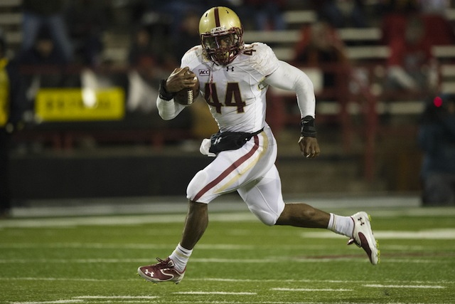 Andre Williams topped the 2,000-yard mark in a 29-26 win against Maryland. (USATSI)