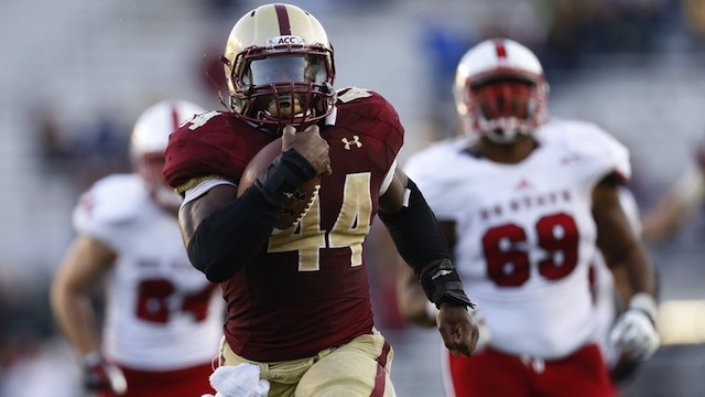Andre Williams set a new ACC single-season record on Saturday. (USATSI)