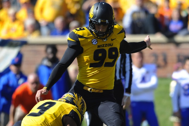 Andrew Baggett tied a school record with five made field goals against Florida. (USATSI)