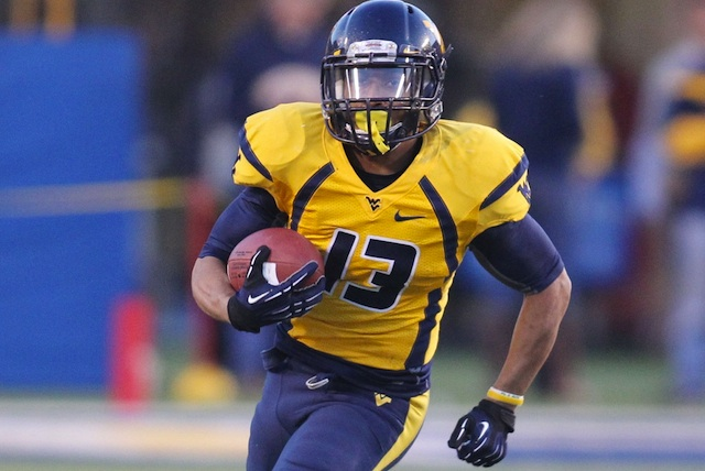 Andrew Buie led West Virginia in rushing in 2012. (USATSI)