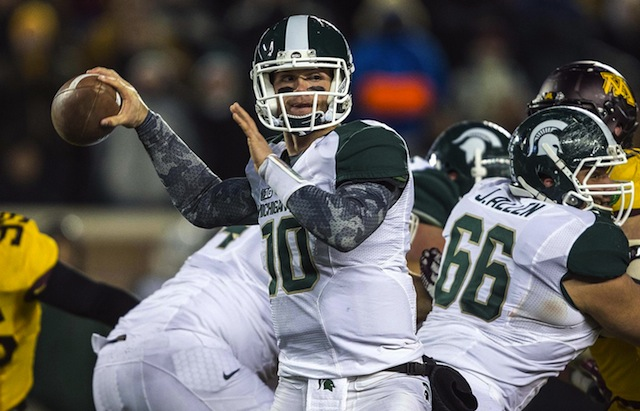 Andrew Maxwell won Michigan State's four-player quarterback competition. (USATSI)