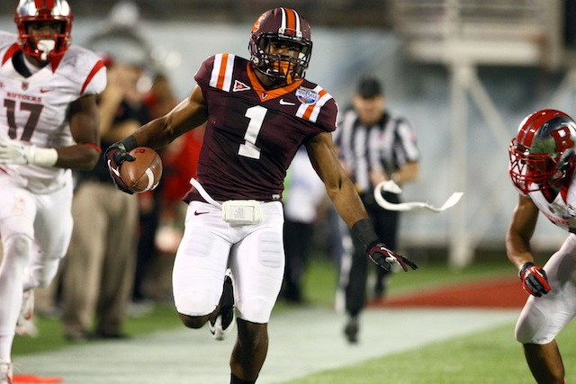 After knee surgery, Antone Exum told Dr. James Andrews the Hokies were going to beat Alabama. (USATSI)