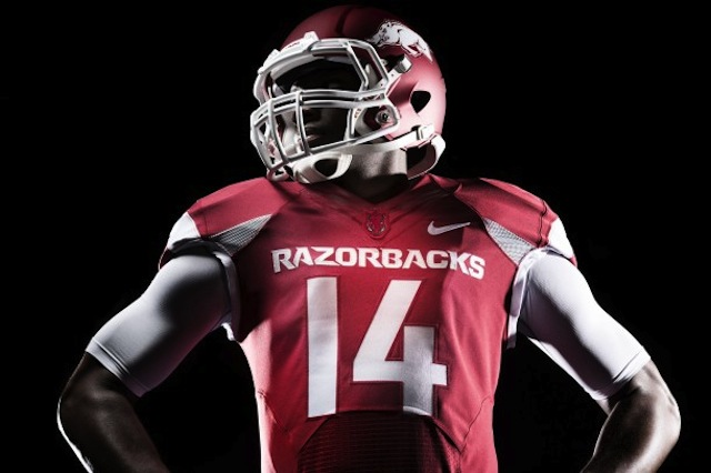 Arkansas will have consistent Nike uniforms across all sports as part of the brand evolution.  (USATSI)
