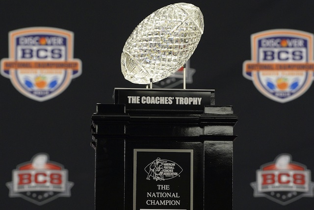 2013 will be the last regular season using BCS standings to determine the title participants. (USATSI)
