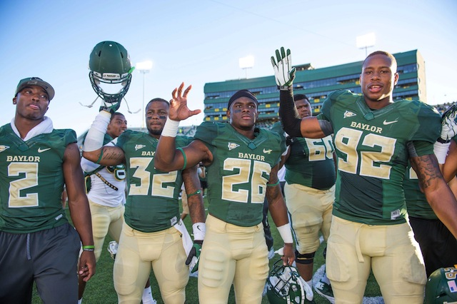 Baylor hasn't faced the meat of their schedule, but is it that crazy to imagine them undefeated?. (USATSI)