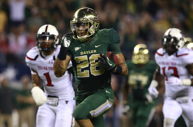 Baylor raced past Texas Tech and jumped Ohio State in the AP rankings. (USATSI)