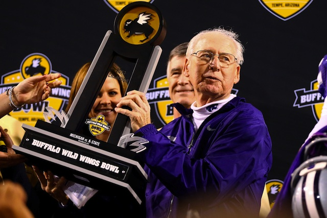 Kansas State won six of its final seven games in 2013, including a bowl win against Michigan.  (USATSI)