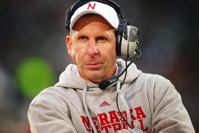 Bo Pelini dismissed two Nebraska defenders for their involvement in an alleged incident over the weekend. (USATSI)