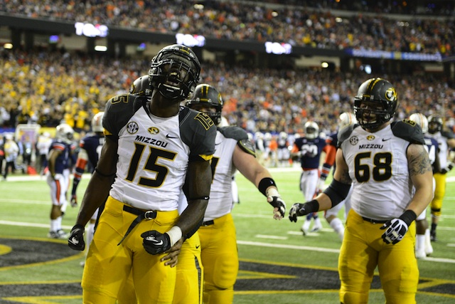 Missouri and Oklahoma State will each look for a bounce back in a highly anticipated Cotton Bowl matchup.  (USATSI)