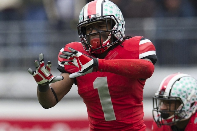 Ohio State DB Bradley Roby hopes to end the SEC's four-year streak of Jim Thorpe Award winners. (USATSI)