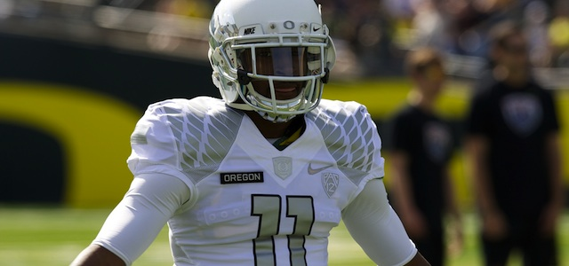 Bralon Addison returned two punts for a touchdown in the Ducks rout of Cal. (USATSI)