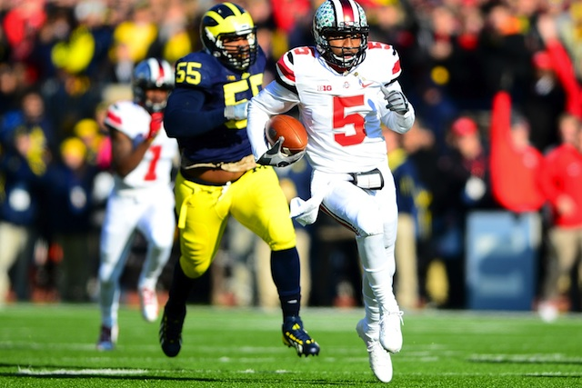 Braxton Miller will try to lead Ohio State to a BCS title game appearance.  (USATSI)