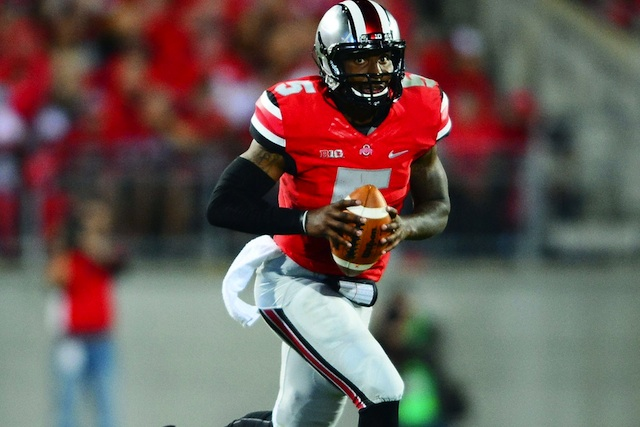 Braxton Miller was back to his usual spectacular self on Saturday against Wisconsin. (USATSI)
