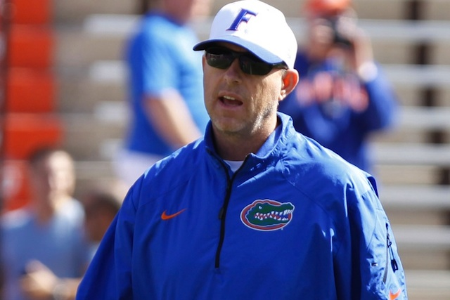 Florida has reportedly fired offensive coordinator Brent Pease.  (USATSI)