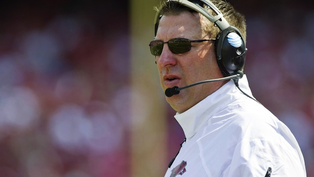 Bret Bielema will look for much better defensive production in 2014. (USATSI)