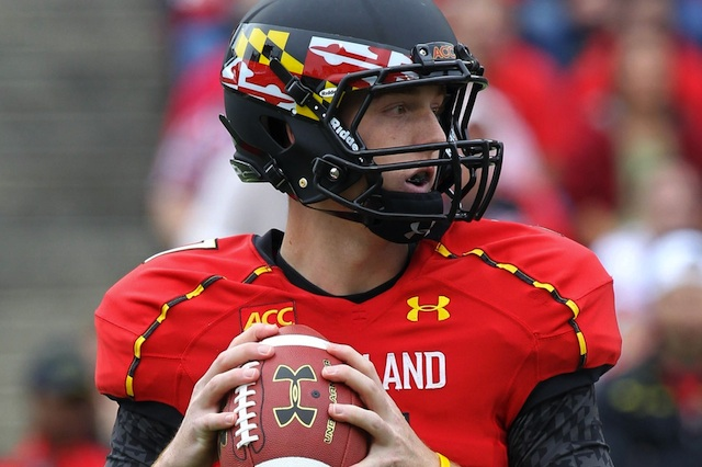 Caleb Rowe will start for Maryland with starting quarterback C.J. Brown out. (USATSI)