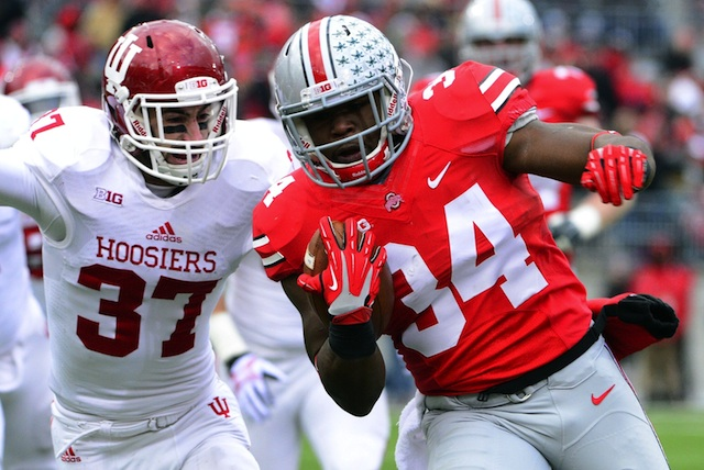 Ohio State is alone in the on-deck circle if Alabama or Florida State stumble. (USATSI)