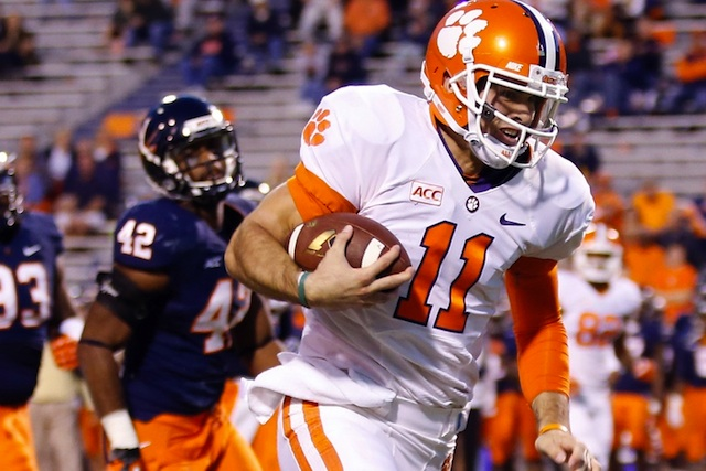 Chad Kelly was a four-star prospect in Clemson's 2012 recruiting class.  (USATSI)