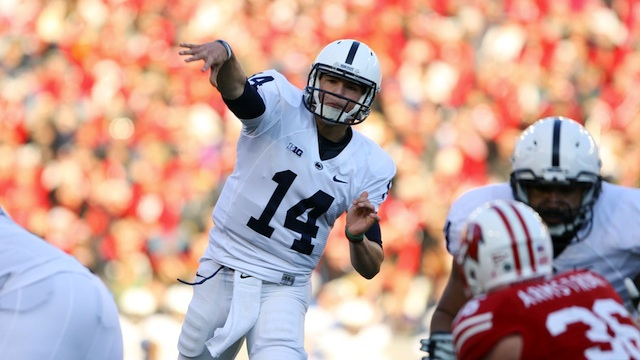 Hackenberg's best performance of the season is good news for Penn State moving forward.  (USATSI)