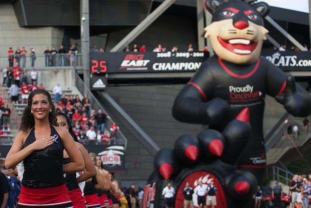 Cincinnati's Board of Trustees approved a $80-$85 million renovation project for Nippert Stadium. (USATSI)