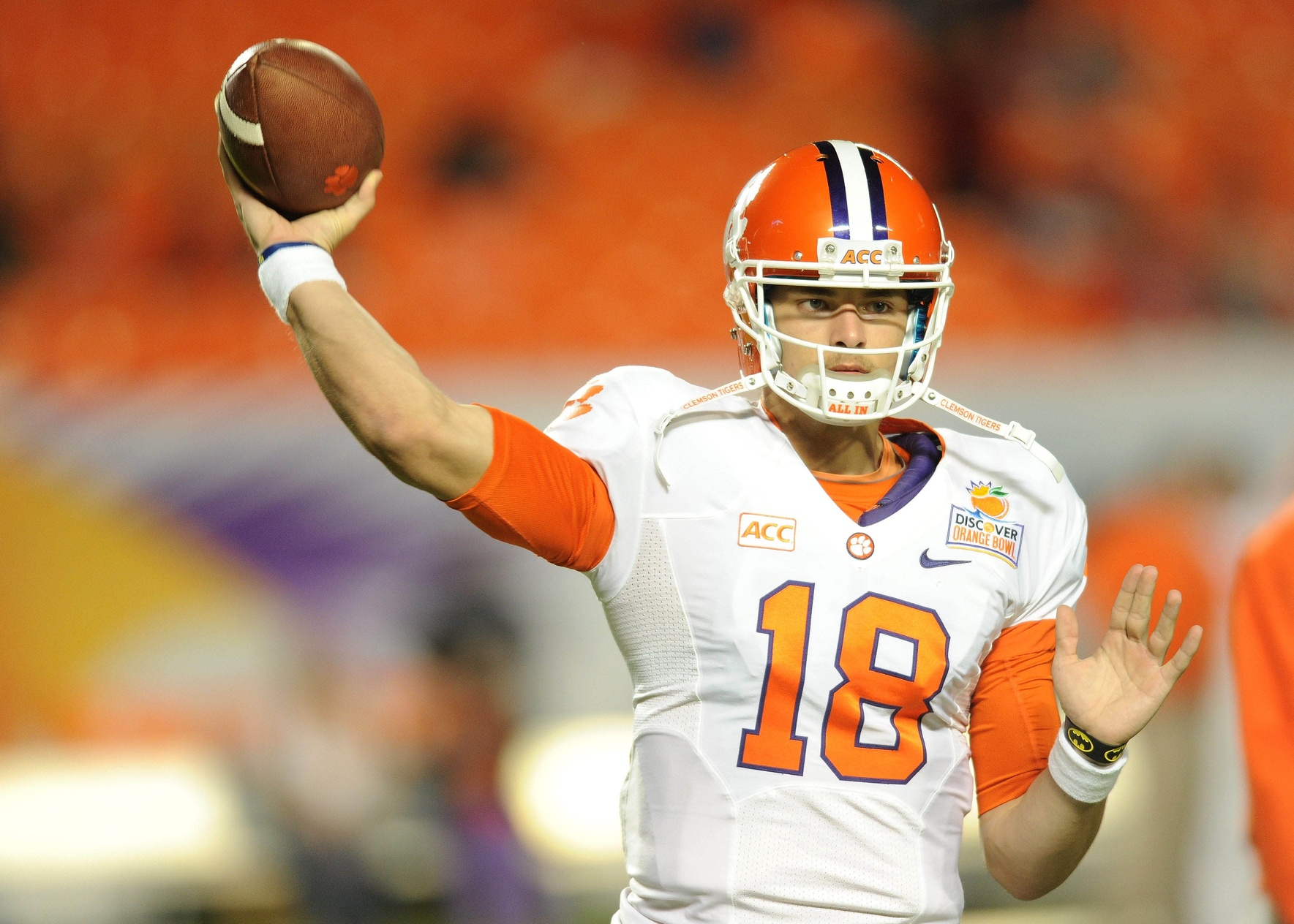 Cole Stoudt backed up Tajh Boyd for three seasons.  (USATSI)