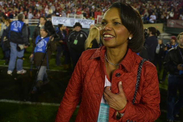 Condoleezza Rice's name has been floated to serve on college football's selection committee. (USATSI)