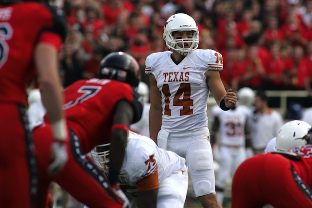 David Ash will be a key to Texas' success in its new offense this fall. (USATSI)